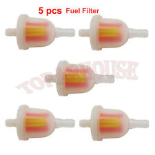 Universal Fuel Gas Filter For Quad ATV Pit Dirt Pocket Bike Mini Chopper Mot 5x