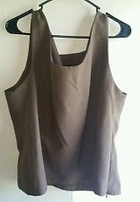 Women's PERCEPTION NEW YORK top Pluse Size 20 Tall, coffee brown clothing