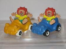 2 vers. Pumuckel Figuren Bully Pumuckel im Auto 1984 ca.  5 cm  ( WR6) B