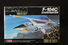 YG008 MONOGRAM 1/48 maquette avion 5455 F-104C Starfighter NAM Tour of Duty