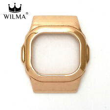 WILMA Chrome Rose Gold Metal Bezel FOR G-Shock DW-5600 GWX-5600 C-5600-3A