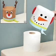 Fashion Creative Home Non - Woven Christmas Elk Snowman Paper Towels