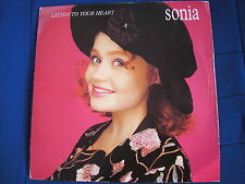 SONIA - LISTEN TO YOUR HEART/ BETTER THAN EVER - Chrysalis