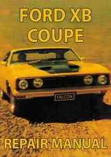 FORD FALCON XB Series COUPE 1973-1976 WORKSHOP MANUAL