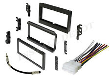 COMPLETE RADIO STEREO INSTALLATION DASH KIT PLUS WIRE HARNESS + ANTENNA ADAPTER