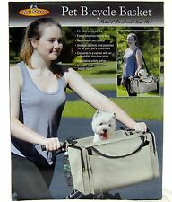 Pet Bicycle Basket Carrier Travel Tote Outdoor Shoulder Bag For Dogs & Cat