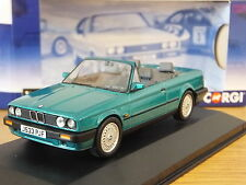 CORGI VANGUARDS BMW 3 SERIES E30 CONVERTIBLE NEON GREEN CAR MODEL VA13702 1:43