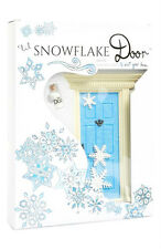 NEW LIL FAIRY 'LIL SNOWFLAKE' SPARKLY BLUE FAIRY DOOR W/FAIRY DUST - TOOTH FAIRY