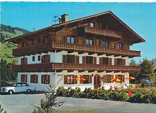 AK aus Kirchberg in Tirol,Berghof Schweiger mit Oldtimer, Mercedes   (B15)