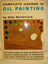 Complete Course In Oil Painting By Olle Nordmark-1960 HC Four Volumes In One