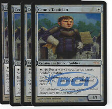 Magic the Gathering 45 Cenn's Tactician Foil Gateway Promo Play Set (4)