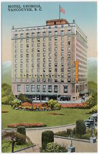 Postcard Hotel Georgia in Vancouver, British Columbia, Canada~105654