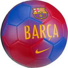 Nike Barcelona Prestige Soccer Ball (Game Royal, Prime Red)