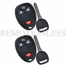 2 Replacement for Buick Chevy Pontiac Saturn Remote Car Key Fob 4b RS b111-pt