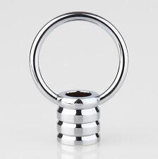 Ringnippel verchromt beweglicher Bügel rund M10x1 Innengewinde