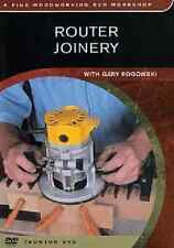 Router Joinery: Choosing Stock to Cutting Joints (DVD)