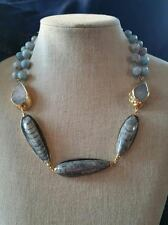 Nordstrom - Janna Conner Moroccan Orthoceras Fossil Necklace  $370.00