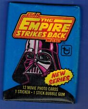 STAR WARS THE EMPIRE STRIKES BACK UNOPENED CARD STICKER PACK SERIES 2 TOPPS 1980