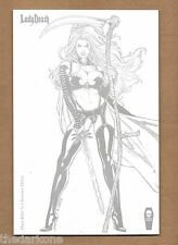 LADY DEATH CHAOS RULES #1 ORTIZ INCENTIVE VARIANT COVER WHITE