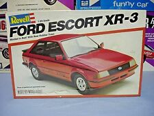 REVELL 1981 FORD ESCORT XR-3 #7317 1/25 AMT MPC 81 MINT FACTORY SEALED MODEL KIT