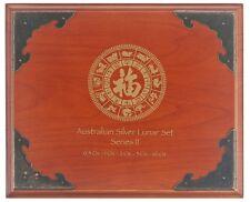 Münzbox 12 1 Oz Silbemünzen Australian Lunar II