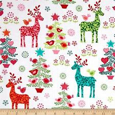 Nordic Holiday  Cotton  Fabric Michael Miller Christmas By the  Yard    BFab
