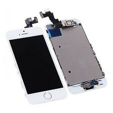 Touch Screen Digitizer LCD Display Full Replacement Assembly For iPhone 5S White