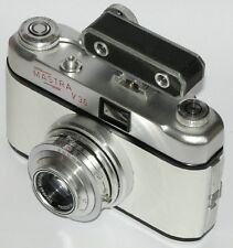 Vintage MASTRA V35 CAMERA, CASE AND RANGEFINDER. WHITE COVERING