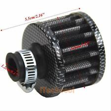 Auto Car 12mm Carbon Cold Air Intake Filter Valve Cover Fresh Clean Crankcase