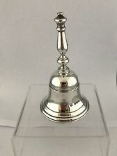 Silver George V Georgian Style Table Bell 1930 London R COMYNS