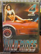 Wild Rides: 4 Movie Set (DVD, 2002, 2-Disc Set), NEW, Hasselhoff, Leif Garrett
