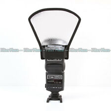 Universal Flash Diffuser Softbox Silver/White Reflector for Speedlite/Speedlight