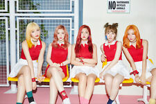RED VELVET-[RUSSIAN ROULETTE] 3rd Mini Album CD+Photo Book+Card+POSTER Sealed