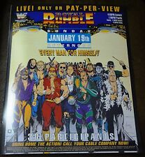 WWE WWF Vintage Royal Rumble 1992 Poster 16x20 Macho Man Randy Savage
