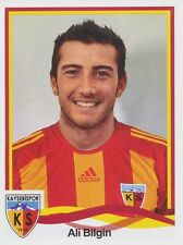 N°257 ALI BILGIN # TURKEY KAYSERISPOR STICKER PANINI SUPERLIG 2011