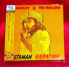 Bob Marley Rastaman Vibration JAPAN 2 SHM MINI LP CD UICY-94591-92