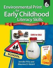 Classroom Resources: Environmental Print for Early Childhood Literacy by...