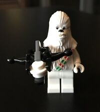 NEW LEGO STAR WARS MINIFIGURE: SNOW CHEWBACCA split From ADVENT CALENDAR 75146