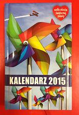 WIELKA ORKIESTRA ŚWIĄTECZNEJ POMOCY - POCKET CALENDAR / KALENDARZ WOŚP 2015
