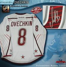 ALEX OVECHKIN Signed 2011 All-Star Game White Reebok Jersey- Washington Capitals