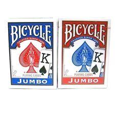 BICYCLE JUMBO Poker Playing Cards 4 Decks Original