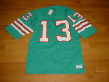 1980s Authentic Vintage Sand Knit Miami Dolphins Dan Marino Jersey #13 NWT MINT!
