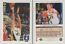 NBA UPPER DECK 1994 COLLECTOR'S CHOICE - Scott Haskin #143 - Ita/Eng- MINT