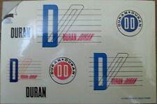 Duran Duran 4x6 Sticker Postcard 1984