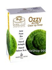 Ozzy Acne Clear Up Soap Prone Skin Herb Vitamin E Deep Clean Face Madame Heng