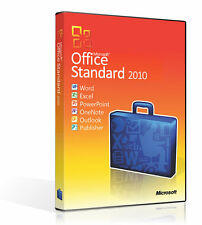 MICROSOFT OFFICE 2010 Standard(Home and Business) 1PC Windows Lifetime licence