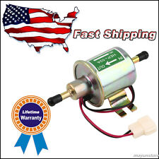 New Superior Quality Gas Diesel Inline Low Pressure electric fuel pump 12V US MU