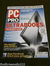 PC PRO #210 - ULTRABOOKS - APRIL 2012