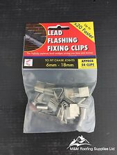 Lead Fixing Clip | Hall Clip | Lead Flashing | Pack Qty Approx 50 | Roof