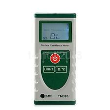 LCD Surface Resistance Resistivity Meter Electrostatic Static Electricity Tester